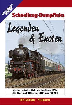 Schnellzug-Dampfloks Legenden & Exoten