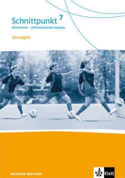 Schnittpunkt Mathematik 7. Differenzierende Ausgabe Nordrhein-Westfalen