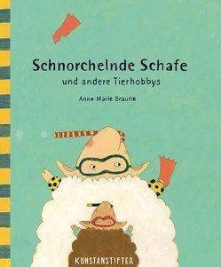 Schnorchelnde Schafe von Braune,  Anne Marie