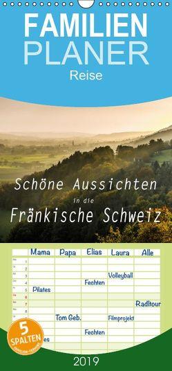 Schöne Aussichten in die Fränkische Schweiz – Familienplaner hoch (Wandkalender 2019 , 21 cm x 45 cm, hoch) von oldshutterhand