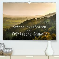 Schöne Aussichten in die Fränkische Schweiz(Premium, hochwertiger DIN A2 Wandkalender 2020, Kunstdruck in Hochglanz) von oldshutterhand