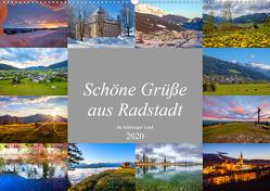 Schöne Grüße aus Radstadt (Wandkalender 2020 DIN A2 quer) von Kramer,  Christa