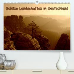 Schöne Landschaften in Deutschland (Premium, hochwertiger DIN A2 Wandkalender 2021, Kunstdruck in Hochglanz) von GUGIGEI
