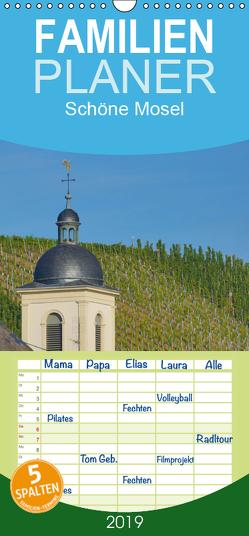 Schöne Mosel – Familienplaner hoch (Wandkalender 2019 , 21 cm x 45 cm, hoch) von Balistreri,  Ricarda