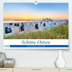 Schöne Ostsee – Impressionen übers Jahr (Premium, hochwertiger DIN A2 Wandkalender 2020, Kunstdruck in Hochglanz) von Dinse,  Stefan