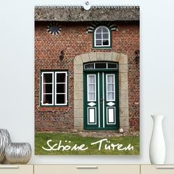 Schöne Türen (Premium, hochwertiger DIN A2 Wandkalender 2021, Kunstdruck in Hochglanz) von Berg,  Martina