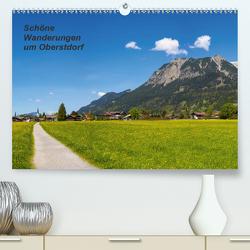 Schöne Wanderungen um Oberstdorf (Premium, hochwertiger DIN A2 Wandkalender 2020, Kunstdruck in Hochglanz) von G. Allgöwer,  Walter