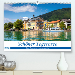 Schöner Tegernsee (Premium, hochwertiger DIN A2 Wandkalender 2020, Kunstdruck in Hochglanz) von Falke,  Manuela