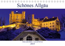 Schönes Allgäu – Lust auf NaTour (Tischkalender 2019 DIN A5 quer) von N.,  N.