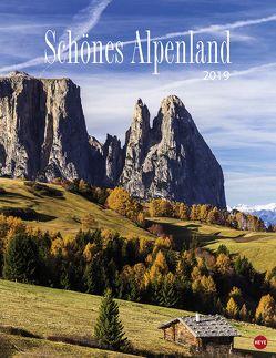Schönes Alpenland – Kalender 2019 von Heye