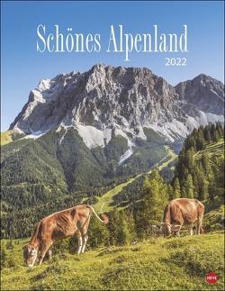 Schönes Alpenland Kalender 2022 von Heye