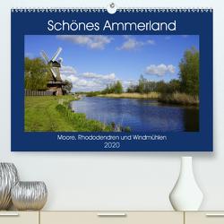 Schönes Ammerland (Premium, hochwertiger DIN A2 Wandkalender 2020, Kunstdruck in Hochglanz) von Rix,  Veronika