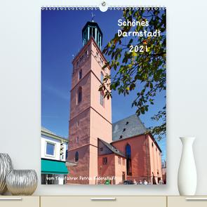 Schönes Darmstadt vom Taxifahrer Petrus Bodenstaff (Premium, hochwertiger DIN A2 Wandkalender 2021, Kunstdruck in Hochglanz) von Bodenstaff,  Petrus