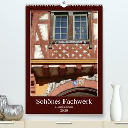 Schönes Fachwerk in Ladenburg am Neckar (Premium, hochwertiger DIN A2 Wandkalender 2020, Kunstdruck in Hochglanz) von Andersen,  Ilona