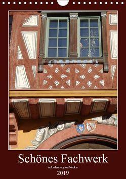 Schönes Fachwerk in Ladenburg am Neckar (Wandkalender 2019 DIN A4 hoch) von Andersen,  Ilona