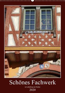 Schönes Fachwerk in Ladenburg am Neckar (Wandkalender 2020 DIN A2 hoch) von Andersen,  Ilona