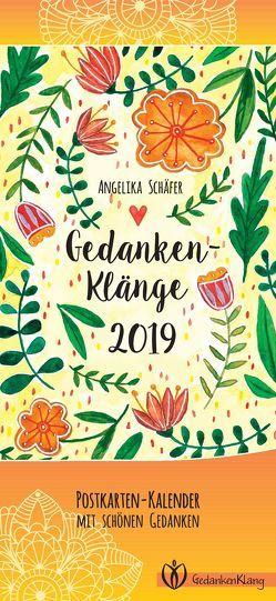 GedankenKlänge 2019 von Schäfer,  Angelika