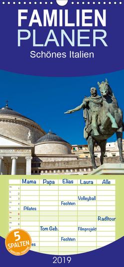 Schönes Italien – Familienplaner hoch (Wandkalender 2019 , 21 cm x 45 cm, hoch) von Enders,  Borg