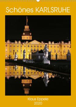 Schönes Karlsruhe (Wandkalender 2020 DIN A2 hoch) von Eppele,  Klaus
