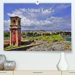 Schönes Korfu (Premium, hochwertiger DIN A2 Wandkalender 2020, Kunstdruck in Hochglanz) von Fornal,  Martina