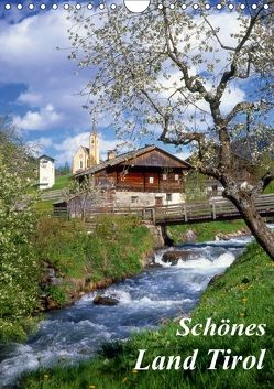Schönes Land Tirol (Wandkalender 2018 DIN A4 hoch) von Reupert,  Lothar