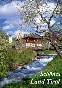 Schönes Land Tirol (Wandkalender 2019 DIN A2 hoch)