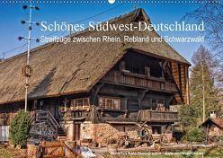 Schönes Südwest-Deutschland Streifzüge zwischen Rhein, Rebland und Schwarzwald (Wandkalender 2018 DIN A2 quer) von Kahl,  Hubertus