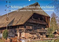 Schönes Südwest-Deutschland Streifzüge zwischen Rhein, Rebland und Schwarzwald (Wandkalender 2019 DIN A2 quer) von Kahl,  Hubertus
