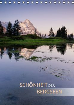 Schönheit der Bergseen (Tischkalender 2018 DIN A5 hoch) von Dreher,  Christiane