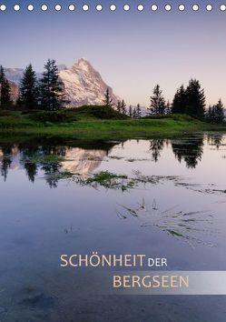 Schönheit der Bergseen (Tischkalender 2019 DIN A5 hoch) von Dreher,  Christiane