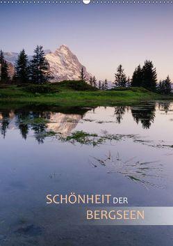 Schönheit der Bergseen (Wandkalender 2018 DIN A2 hoch) von Dreher,  Christiane