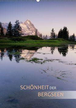 Schönheit der Bergseen (Wandkalender 2019 DIN A2 hoch) von Dreher,  Christiane