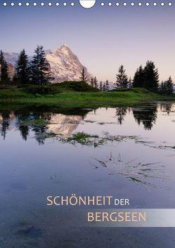 Schönheit der Bergseen (Wandkalender 2019 DIN A4 hoch) von Dreher,  Christiane