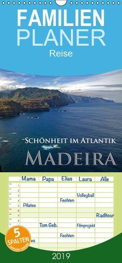 Schönheit im Atlantik – Madeira – Familienplaner hoch (Wandkalender 2019 , 21 cm x 45 cm, hoch) von Janka,  Rick