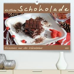 Schokolade – aus der Kakaobohne (Premium, hochwertiger DIN A2 Wandkalender 2021, Kunstdruck in Hochglanz) von Thiem-Eberitsch,  Jana