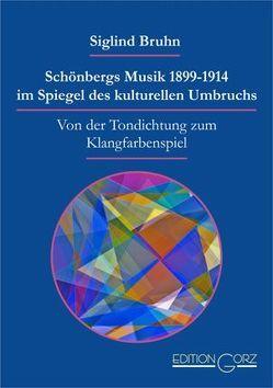 Schönbergs Musik 1899-1914 im Spiegel des kulturellen Umbruchs von Bruhn,  Siglind