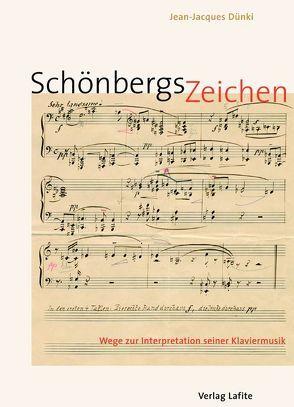 Schönbergs Zeichen von Dünki,  Jean J, Schmidt,  Matthias, Stephan,  Rudolf