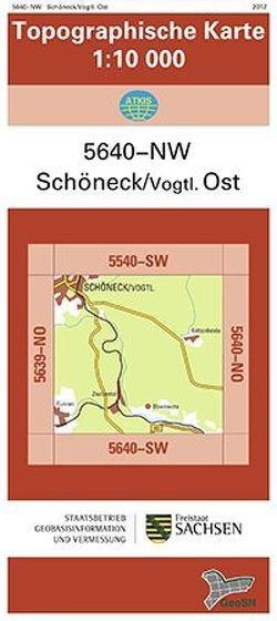 Schöneck/Vogtl. Ost (5640-NW)