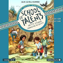 School of Talents 3: Dritte Stunde: Monster in Sicht! von Funk,  Marian, Schellhammer,  Silke