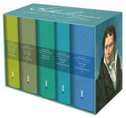 Schopenhauer: Sämtliche Werke in fünf Bänden im Schuber von Schopenhauer,  Arthur, von Löhneysen,  Wolfgang