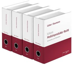 Schorn Medizinprodukte-Recht von Baumann,  Hans Georg, Lücker,  Volker, Schorn,  Gert