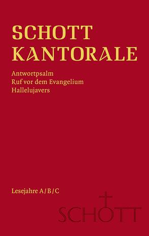 SCHOTT Kantorale von Schmitz,  Heinz-Walter