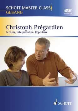 Schott Master Class Gesang von Prégardien,  Christoph