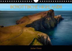 SCHOTTISCHE HIGLANDS (Wandkalender 2020 DIN A4 quer) von Thoma,  Herbert