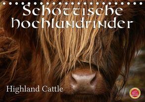 Schottische Hochlandrinder – Highland CattleAT-Version (Tischkalender 2018 DIN A5 quer) von Cross,  Martina