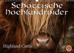 Schottische Hochlandrinder – Highland CattleAT-Version (Wandkalender 2018 DIN A3 quer) von Cross,  Martina