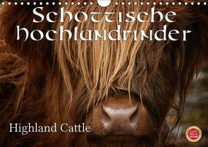 Schottische Hochlandrinder – Highland CattleAT-Version (Wandkalender 2018 DIN A4 quer) von Cross,  Martina