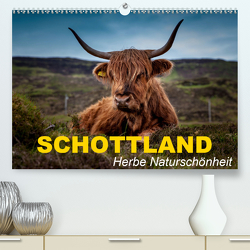 Schottland • Herbe Naturschönheit (Premium, hochwertiger DIN A2 Wandkalender 2021, Kunstdruck in Hochglanz) von Stanzer,  Elisabeth