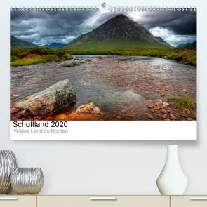 Schottland 2020 – Wildes Land im Norden (Premium, hochwertiger DIN A2 Wandkalender 2020, Kunstdruck in Hochglanz) von kalender365.com