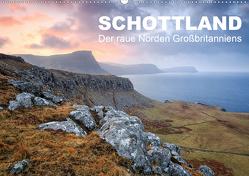 Schottland: Der raue Norden Großbritanniens (Wandkalender 2021 DIN A2 quer) von Aust,  Gerhard